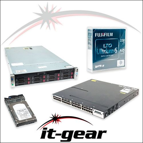 HP 500662-B21 8GB (1x8GB) Dual Rank x4 PC3-10600 (DDR3-1333) Registered CAS-9 Memory Kit