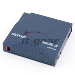 Maxell 183900 LTO-3 Tape 400/800GB