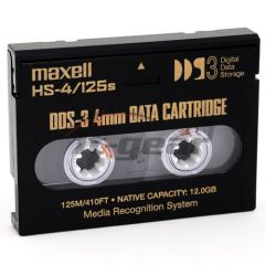Maxell 200025 4mm DDS 3 Tape 125M 12/24GB