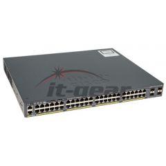 Refurbished Cisco Switch WS-C2960X-48LPD-L CAT2960X 48-GE PoE+ 2-10G SFP+ 370W LAN